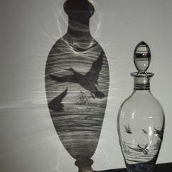 OMBRE - lorella_beatrice_vaso di vetro
