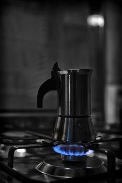 Francesco Romano - Ciclica quotidianità - Caffè 1